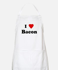 I Love Bacon BBQ Apron