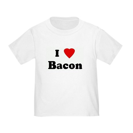 I Love Bacon Toddler T-Shirt