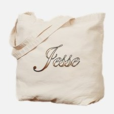 Gold Jesse Tote Bag