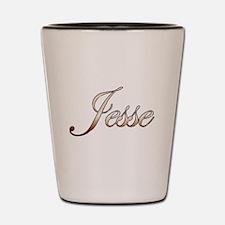 Gold Jesse Shot Glass