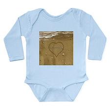 Rosemary Beach Love Long Sleeve Infant Bodysuit