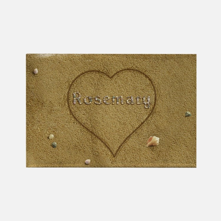 Rosemary Beach Love Rectangle Magnet