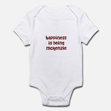 happiness is being Mckenzie Infant Bodysuit