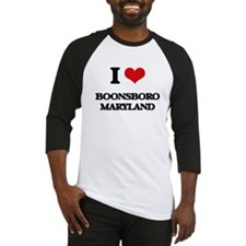 I love Boonsboro Maryland Baseball Jersey