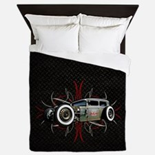 Pinstripe RAT Queen Duvet