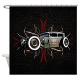 Hot rod Shower Curtains