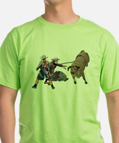 Clowns and Bull-2 without Text T-Shirt