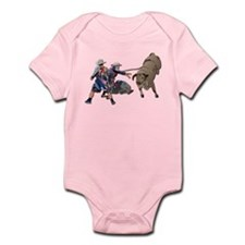 Clowns and Bull-2 without Text Infant Bodysuit
