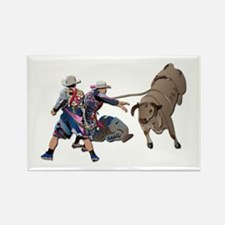Clowns and Bull-2 without Text Rectangle Magnet
