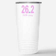 26.2 100% Crazy Travel Mug