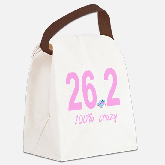 26.2 100% Crazy Canvas Lunch Bag