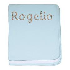 Rogelio Seashells baby blanket
