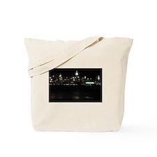 Night view of Midtown Manhattan NYC. Phot Tote Bag