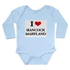 I love Hancock Maryland Body Suit