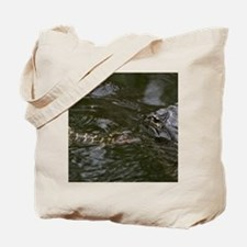 Baby Goes for a Swim Tote Bag