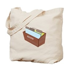 Recipe Box Tote Bag