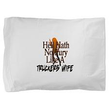 helltruckerswife2.png Pillow Sham