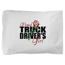 truckersgirl.png Pillow Sham