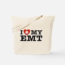 I Love My EMT Tote Bag