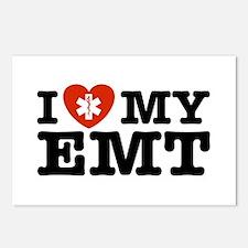 I Love My EMT Postcards (Package of 8)