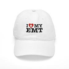 I Love My EMT Baseball Cap