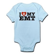 I Love My EMT Infant Bodysuit
