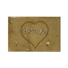 Robyn Beach Love Rectangle Magnet