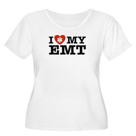 I Love My EMT Women's Plus Size Scoop Neck T-Shirt