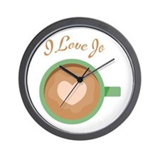 Love Jo Wall Clock