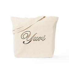 Gold Yuri Tote Bag