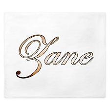 Gold Zane King Duvet