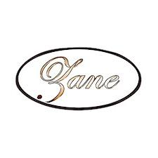 Gold Zane Patch