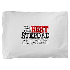 Best Stepdad Pillow Sham