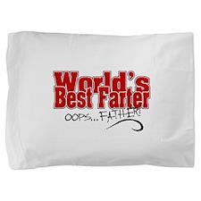 World's Best Farter Pillow Sham