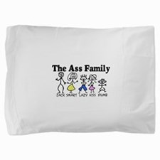 Stick Family2.png Pillow Sham