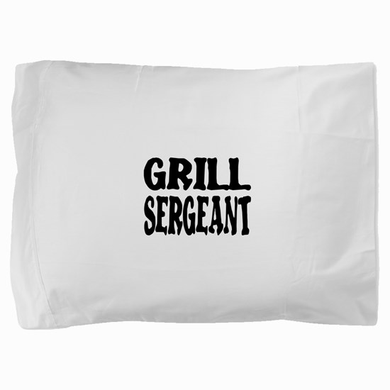 grill sergeant.png Pillow Sham