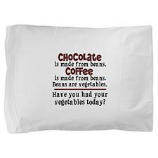 chocolatecoffee.png Pillow Sham