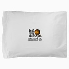 play like a girl.png Pillow Sham