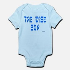 Wise Son Passover Infant Bodysuit