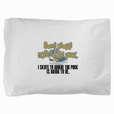 skate to the puck2.png Pillow Sham