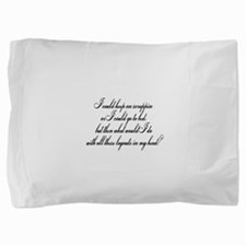 gotobed.png Pillow Sham