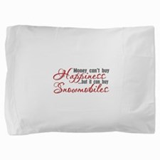 Snowmobiling Pillow Sham