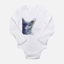 What greater gift than the love of a cat Body Suit