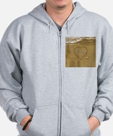 Riley Beach Love Zip Hoodie