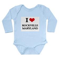 I love Rockville Maryland Body Suit