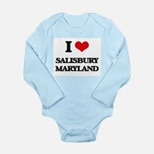 I love Salisbury Maryland Body Suit