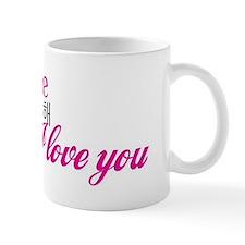 Funny Love kpop in korean Mug