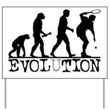 EVOLUTION Tennis Yard Sign