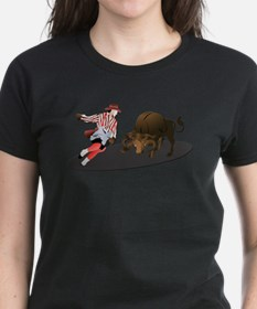 Clown and Bull 1-No-Text Tee