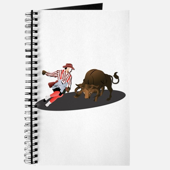 Clown and Bull 1-No-Text Journal